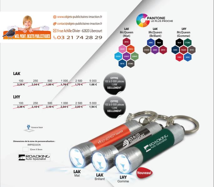 Promotion porte-clés LED