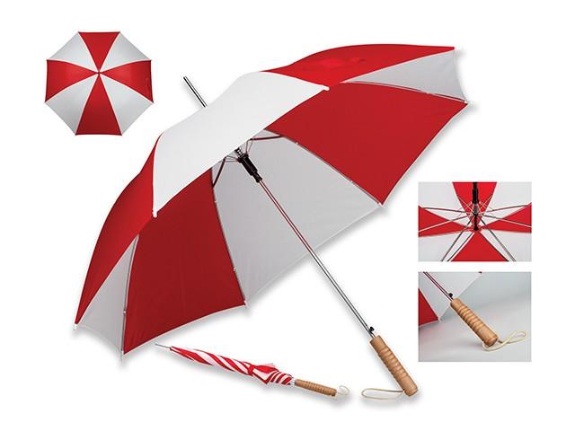 parapluie automatique en polyester, 8 panneaux