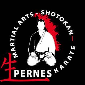 Logo karate club de Perne
