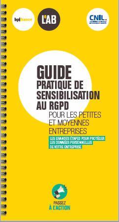 Guide de sensibilisation TPE PME de la CNIL