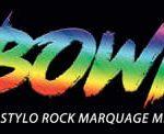 Bowie : Le stylo Rock marquage miroir