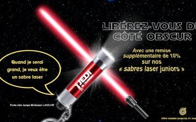 Porte-clés 3 LED offre spéciale