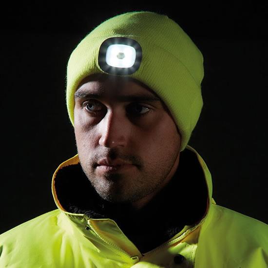 Imaction : Bonnet LED rechargeable