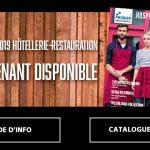 Textiles: Catalogue 2019 Hôtel Restaurant Métiers de bouche