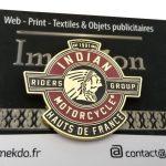 Pins Indian Motor Cycle Hauts de France