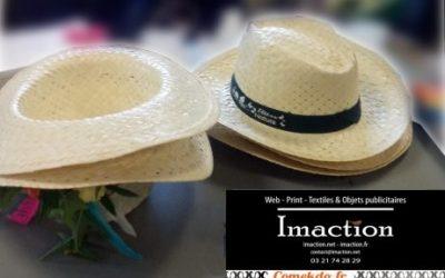 Chapeaux de paille événementiels: