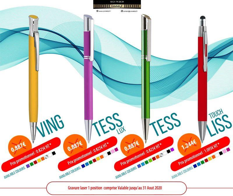Promotion stylos bille été 2020